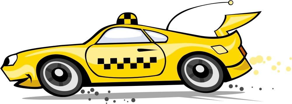 так картинки машинок мультяшные такси создания изделий
