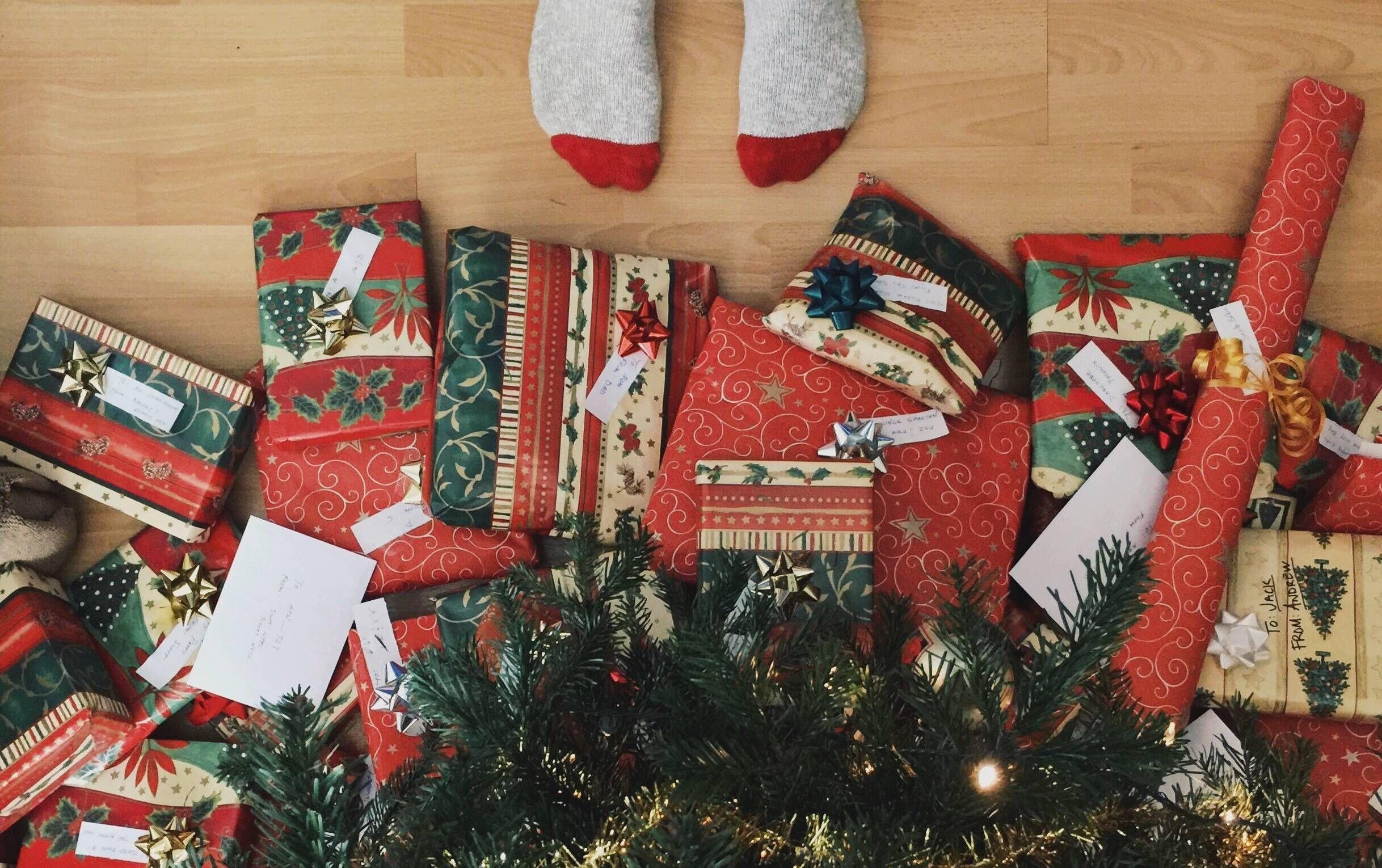 Новогодние подарки что дарят