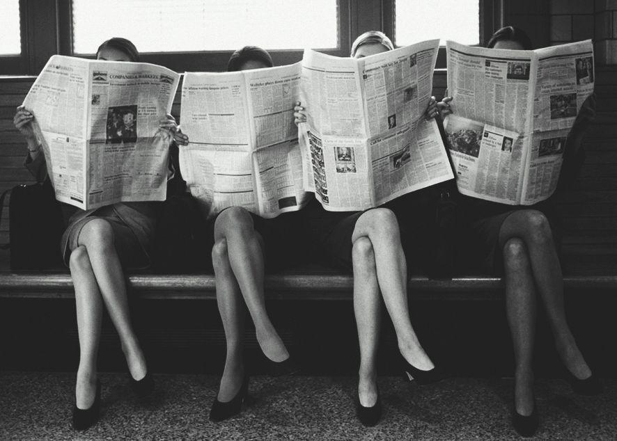 Пассивное поглощение газетного контента уходит в прошлое